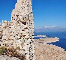 Halki Crusader castle by David Fowler