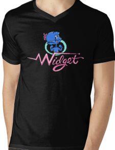 Widget - NES Title Screen Mens V-Neck T-Shirt