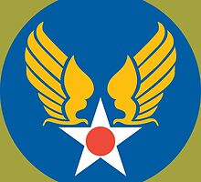 US Army Air Corps Hap Arnold Wings by wordwidesymbols
