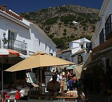 Almond Vendor - Mijas, Spain by Allen Lucas