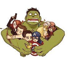 Avengers by Prongslet