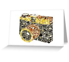 Camera Collage Greeting Card
