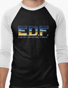 Earth Defense Force Men's Baseball ¾ T-Shirt