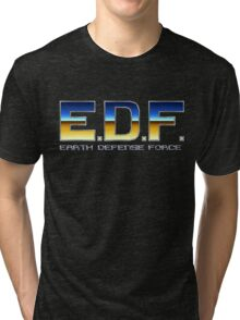 Earth Defense Force Tri-blend T-Shirt