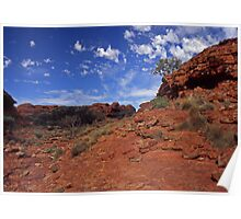 red centre Poster