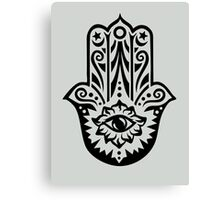 Hamsa - Hand of Fatima, protection symbol Canvas Print