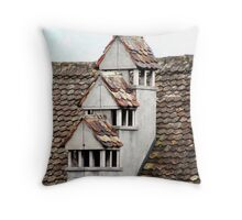 Rapperswil Roof Throw Pillow