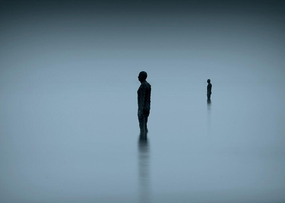 walking on glass by Martin Pickard