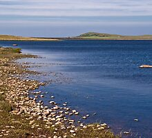 Islay: Blue Waters of Loch Gorm by Kasia-D