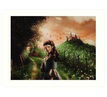 Regal Con - Belle Art Print