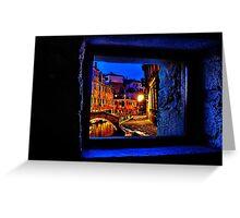 Mystical Window Venice Fine Art Print Greeting Card