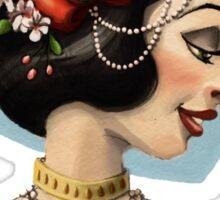 Tribal Princess Snow White Sticker