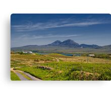 Islay: On the Road to Bunnahabhain Canvas Print