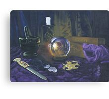 Mystic still life Canvas Print