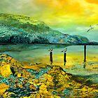 In front of the cliffs by Anne Weirich