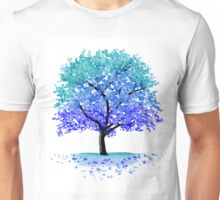 Blue Blossom Tree Unisex T-Shirt