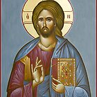 Christ Pantokrator by ikonographics