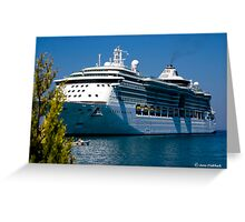 A Summer´s Day in the Mediterranean Sea. Brilliance of the Sea. Greeting Card