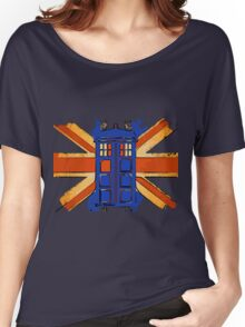 Dr Who - The Tardis - Vintage Jack Women's Relaxed Fit T-Shirt