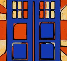 Dr Who - The Tardis - Vintage Jack Sticker