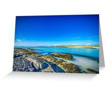 Sanna Bay 2 Ardnamurchan Peninsula Greeting Card
