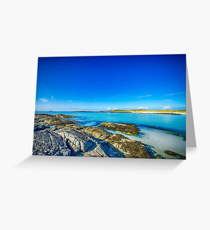 Sanna Bay 2 Ardnamurchan Peninsula Greeting Card