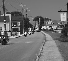 Bikers invade Joppa by AntonLee