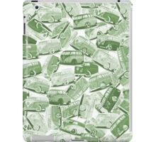 Camper Collage (Green) iPad Case/Skin