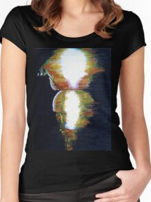 Silouette Sunset Women's Fitted Scoop T-Shirt