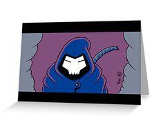 Samurai Reaper Greeting Card