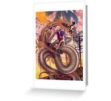 Dragon Skater Greeting Card