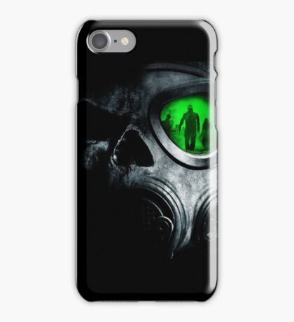 Zombie Gas Mask iPhone Case/Skin