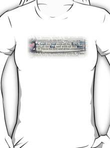 MATTHEW 22 - THE GREATEST COMMANDMENT T-Shirt