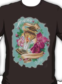 lantern with cherry blossoms T-Shirt