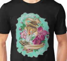 lantern with cherry blossoms Unisex T-Shirt