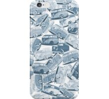 Camper Collage (Blue) iPhone Case/Skin