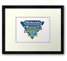 Nintendo World Championships 1990 Framed Print