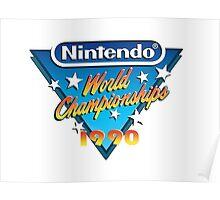 Nintendo World Championships 1990 Poster