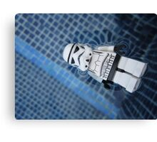 Dave Stormtrooper Tenerife in Pool Canvas Print