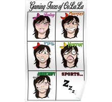 Gaming Faces of OoLaLa Poster