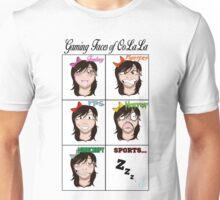 Gaming Faces of OoLaLa Unisex T-Shirt