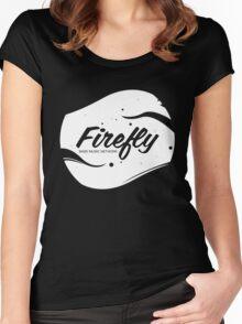 FireflyMedia Logo Women's Fitted Scoop T-Shirt