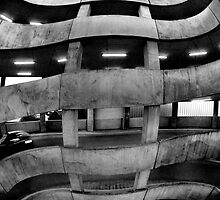distorted concrete by Martin Pickard