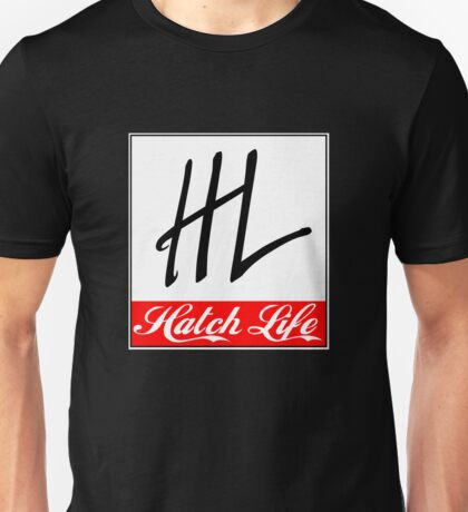 Hatch Life Kanjo Door Card Shirt Unisex T-Shirt