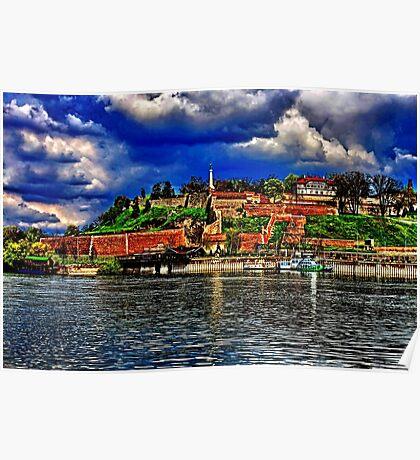 Medieval Fortress Kalemegdan Belgrade Poster