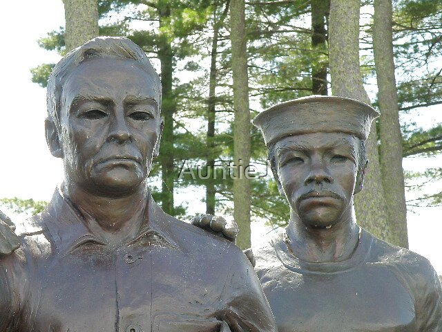 WI Korean War Memorial - The Statues #3 by AuntieJ
