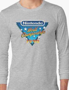 Nintendo World Championships 1990 Long Sleeve T-Shirt