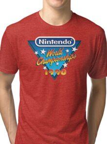 Nintendo World Championships 1990 Tri-blend T-Shirt
