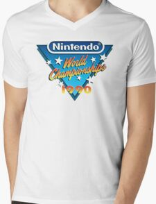 Nintendo World Championships 1990 Mens V-Neck T-Shirt