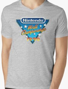 Nintendo World Championships 1990 Mens V-Neck T-Shirt